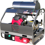 Pressure Washers that work - 4000 psi 8 gpm diesel fired all stainless steel pressure washer