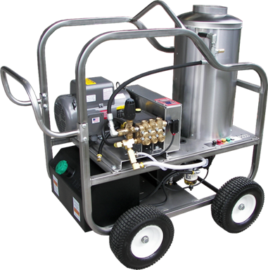 Pressure Washers with lifetime stainless steel frames only at pressure systems